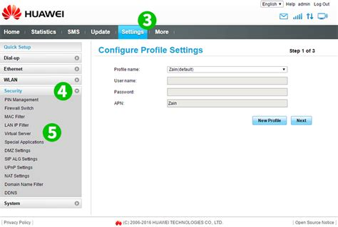 Enable Port Forwarding For The Huawei B315s 936 Cfos