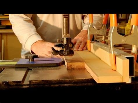 how thin a strip makes a haircut a mohawk woodworking how to cut thin wood strips on the bandsaw