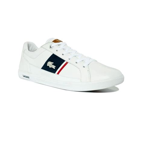 lacoste sneakers for lyst lacoste europa sneakers in white for