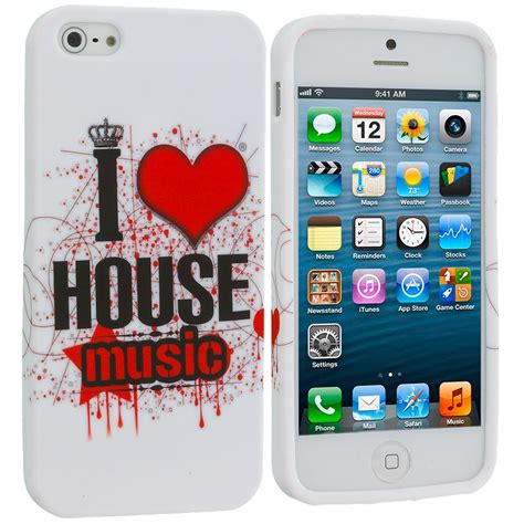 soft house music apple iphone se house music tpu design soft rubber case cover shopphonecases com