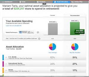 best asset allocation funds jemstep review the real money story