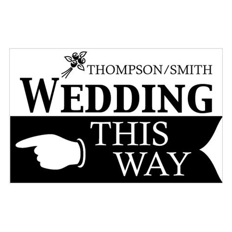 printable wedding road signs wedding this way wedding directional sign the knot shop