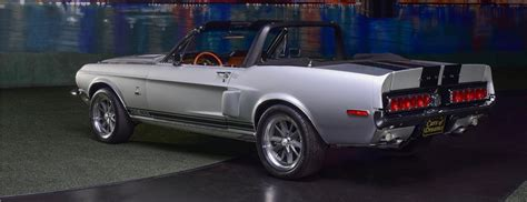 Sf Shelby Top barrett jackson countdown 1968 shelby gt500 ford mustang convertible classiccars journal