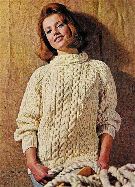 knitting patterns for aran sweaters the stiletto