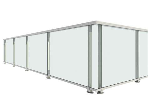 barandilla aluminio anclaje  pavimento serie unica mod classic