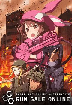 infos sword art  alternative gun gale