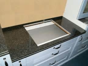 schwarzer granit arbeitsplatte 120 cm granit k 252 chen arbeitsplatte schwarz f 252 r kochfeld 75