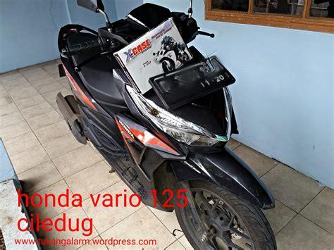Alarm Vario 125 alarm motor terbaik new honda vario 125 esp alarm sepeda