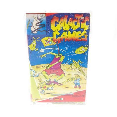 commodore 64 cassette galactic c64 cassette