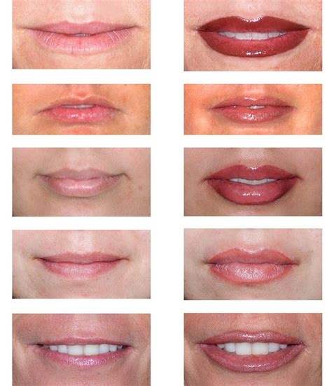 tattoo lip liner before after photos permanent makeup a touch of