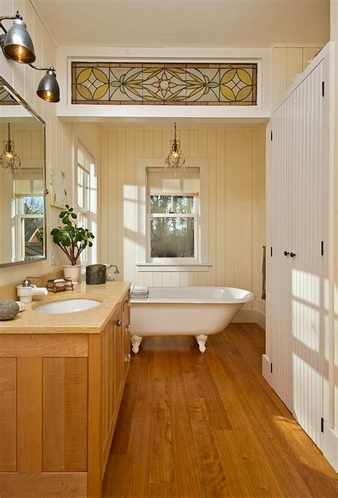 Unique Bathroom Flooring Ideas farmhouse style interiors ideas inspirations