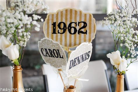50th anniversary decorations diy decorating home cool 50th anniversary decorations diy 50th anniversary