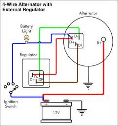 vw alternator external regulator wiring diagram kubota alternator wiring diagram elsavadorla