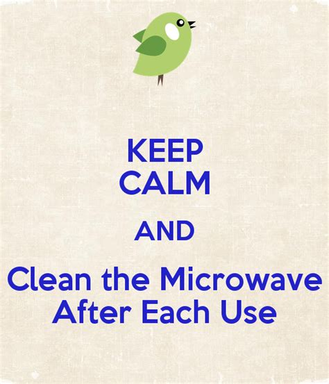 templates to cean microwave after use just b cause