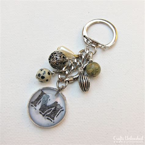 Christmas Decorations Ideas To Make At Home by Anthropologie Inspired Diy Keychain