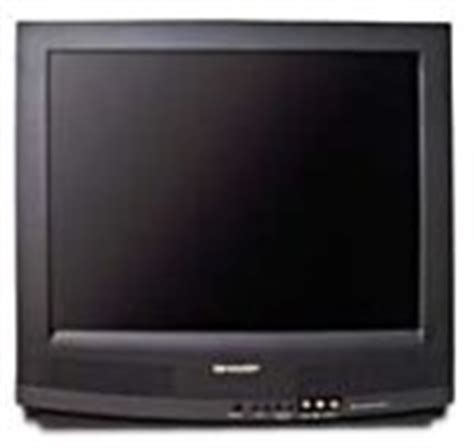 Tv Sharp Av Stereo sharp 20ns100 20 quot mts stereo color tv with front a v inputs electronics