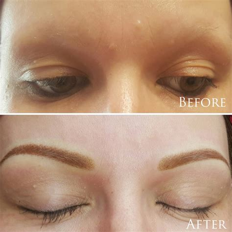 the lashe inc eyebrow before after photos chicago