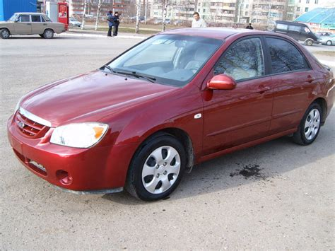 Kia Cars 2005 2005 Kia Cerato Pictures 1 6l Gasoline Ff Manual For Sale