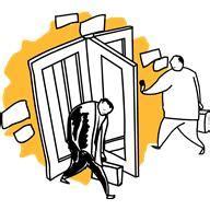 Revolving Door by Cyber Social Worker