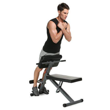 back extension bench fitness multi workout adjustable stamina hyperextention ab strength