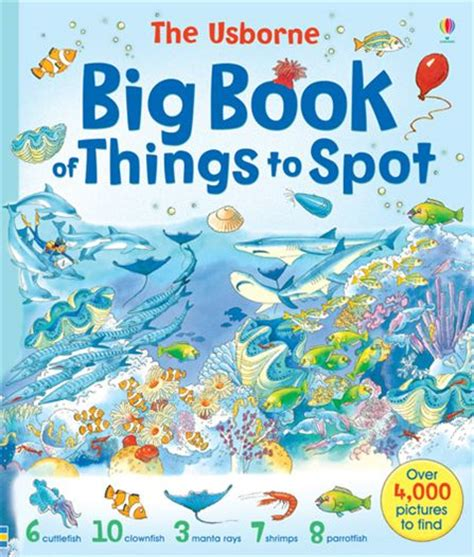 Usborne Book Of Things To Spot Out And About Board Book 1 big book of things to spot at usborne books at home