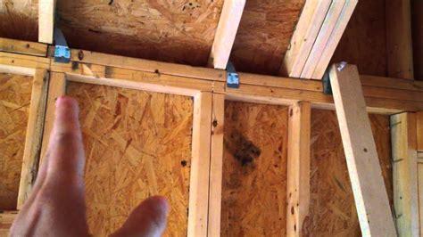 build  tiny house episode  loft framing