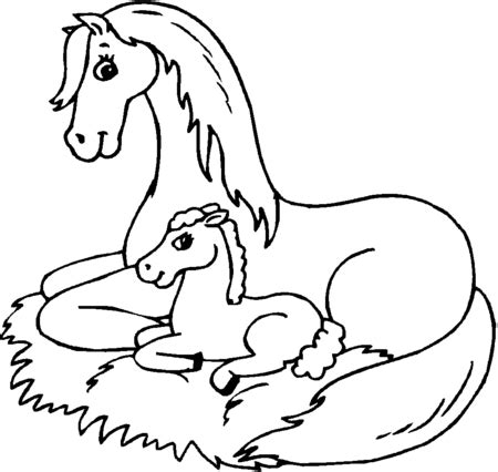 coloring pictures of baby horses 17 free printable horses coloring pages for kids gt gt disney