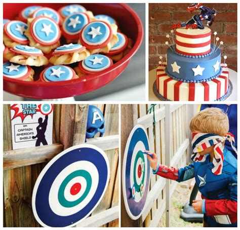 capitan america decoracion ambientacion cotilln fiestas fiesta del capit 225 n america con originales decoraciones