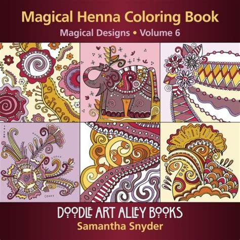 83 henna design coloring book coloring