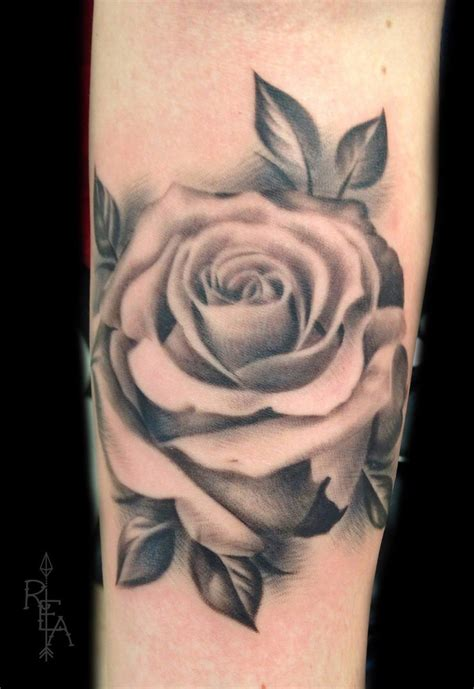 black and grey rose tattoo pinterest black and gray rose by robinelizabethart on deviantart