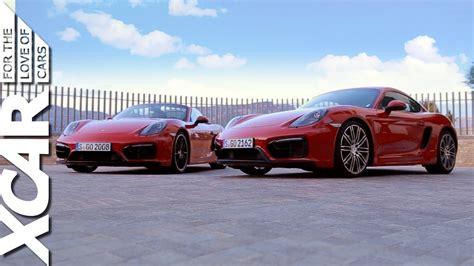 difference between porsche 911 and cayman porsche cayman gts vs porsche boxster gts xcar