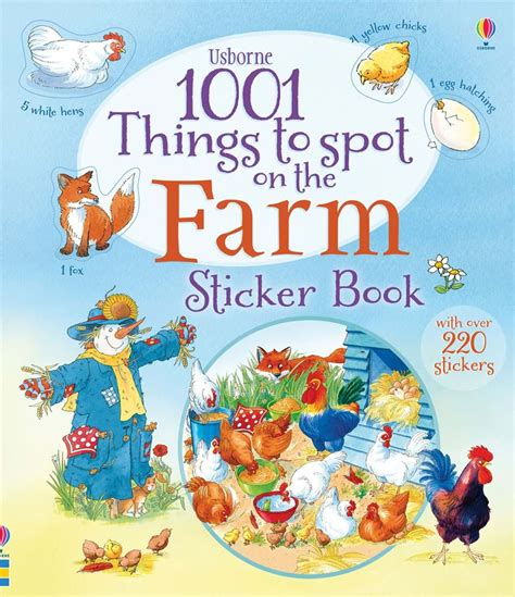 Usborne Book Of Things To Spot Out And About Board Book 1 1001 things to spot on the farm sticker book at usborne books at home