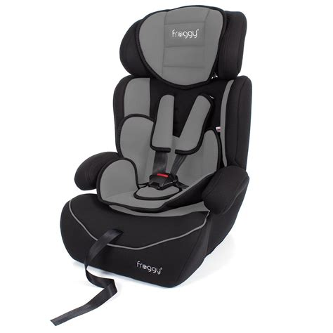 reclining child car seat group 2 3 froggy 174 adjustable baby child car seat booster seat