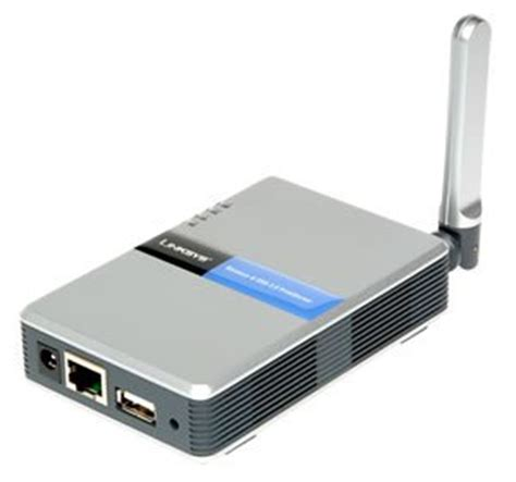 2 print server cisco linksys wps54g wireless g 802 11g print
