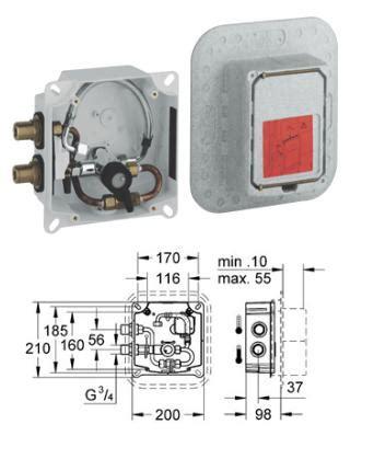 grohe 42841000 europlus mounting set grohe atrio two handle sink mixer 31000000 31000 grohe arab supremeplumb