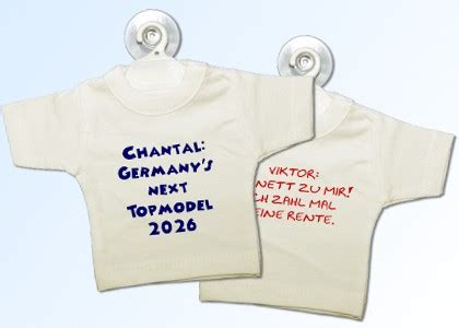 Mini T Shirt F R Autoscheibe by Mini Shirt Bestellen Mini Shirt Baby Universum