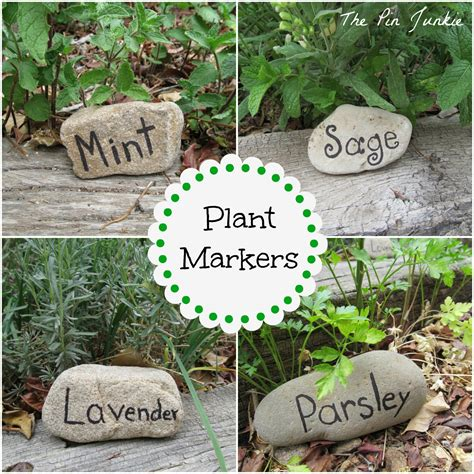 herb garden markers a giveaway the honeycomb home clever chicks blog hop 37 and 2 giveaways the chicken