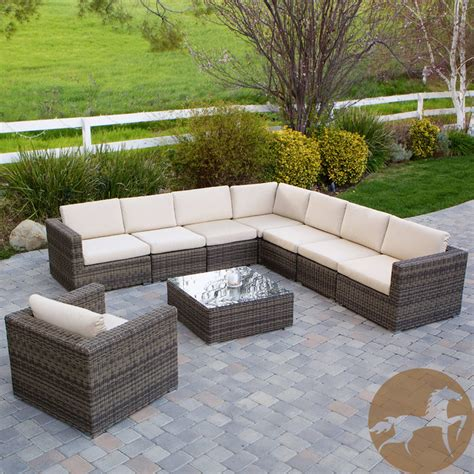 christopher home santa rosa 9 outdoor sofa