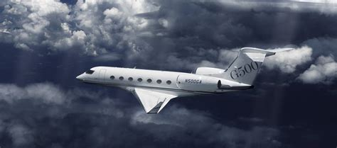 500 Ft To Miles by Gulfstream Aerospace Aircraft G500