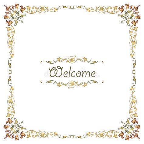 vector luxury banner border royalty free stock photos luxury border frame stock vector image 44779423