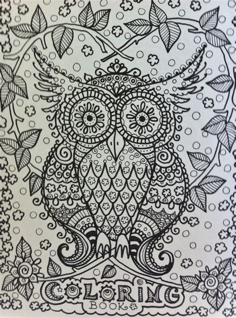intricate owl coloring pages intricate owl coloring pages