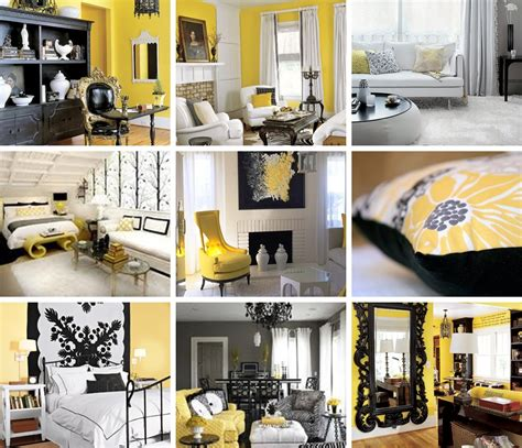 Black Decorations Home by Yellow And Kitchen Decor Decobizz
