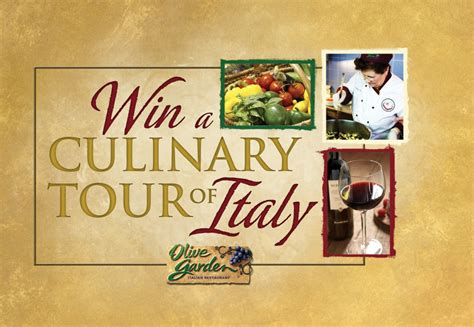 Olive Garden Sweepstakes - olive garden tour of italy sweepstakes giveaway closed babes and kids review