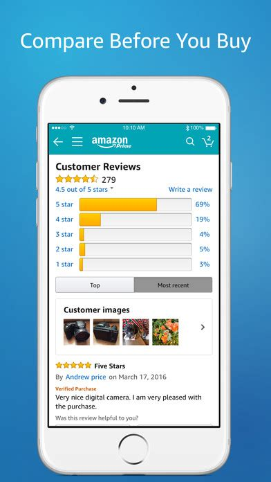 amazon com amazon app shop scan compare and read reviews on the