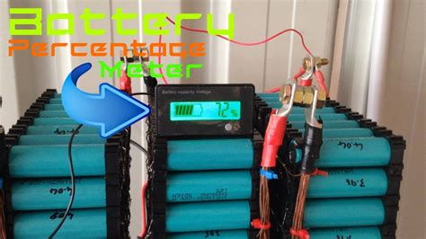 diy tesla powerwall diy tesla powerwall voltage meter and more cell holders