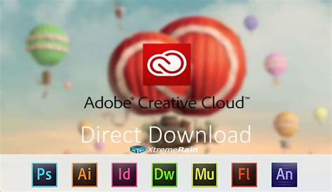 direct adobe cc cs desktop apps new and