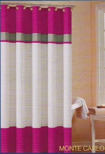 pink fabric shower curtain pin by kelly hullah on shower curtain pinterest