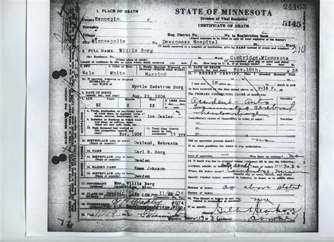 Minnesota Birth Records Index Minnesota Certificate Index 24 Amerikaforskning