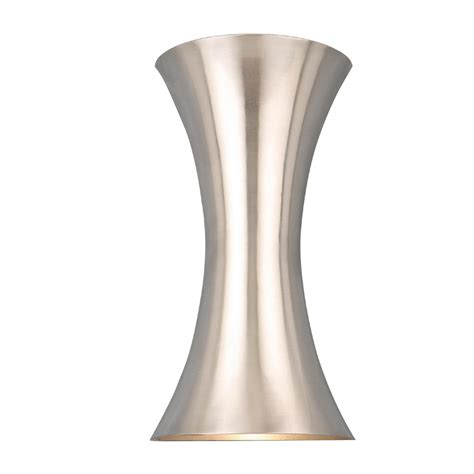 Pocket Wall Sconce Shop Style Selections 6 75 In W 2 Light Brushed Nickel Pocket Hardwired Wall Sconce At Lowes