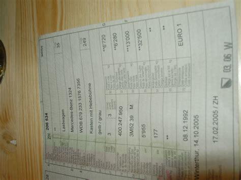 Brief Schweiz Günstig 1324 Lkw G 252 Nstig Mercedes Daimler Gebraucht Gebrauchter